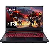 "Acer Nitro 5 Gaming Laptop, 9th Gen Intel Core i5-9300H, NVIDIA GeForce GTX 1650, 15.6"" Full HD IPS Display, 8GB DDR4, 256GB NVMe SSD, Wi-Fi 6, Backlit Keyboard, Alexa Built-in, AN515-54-5812"