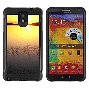 """Hypernova Defender Series TPU protection Cas Case Coque pour SAMSUNG Galaxy Note 3 III / N9000 / N9005 [Sunset Beautiful Nature 76""""]"""