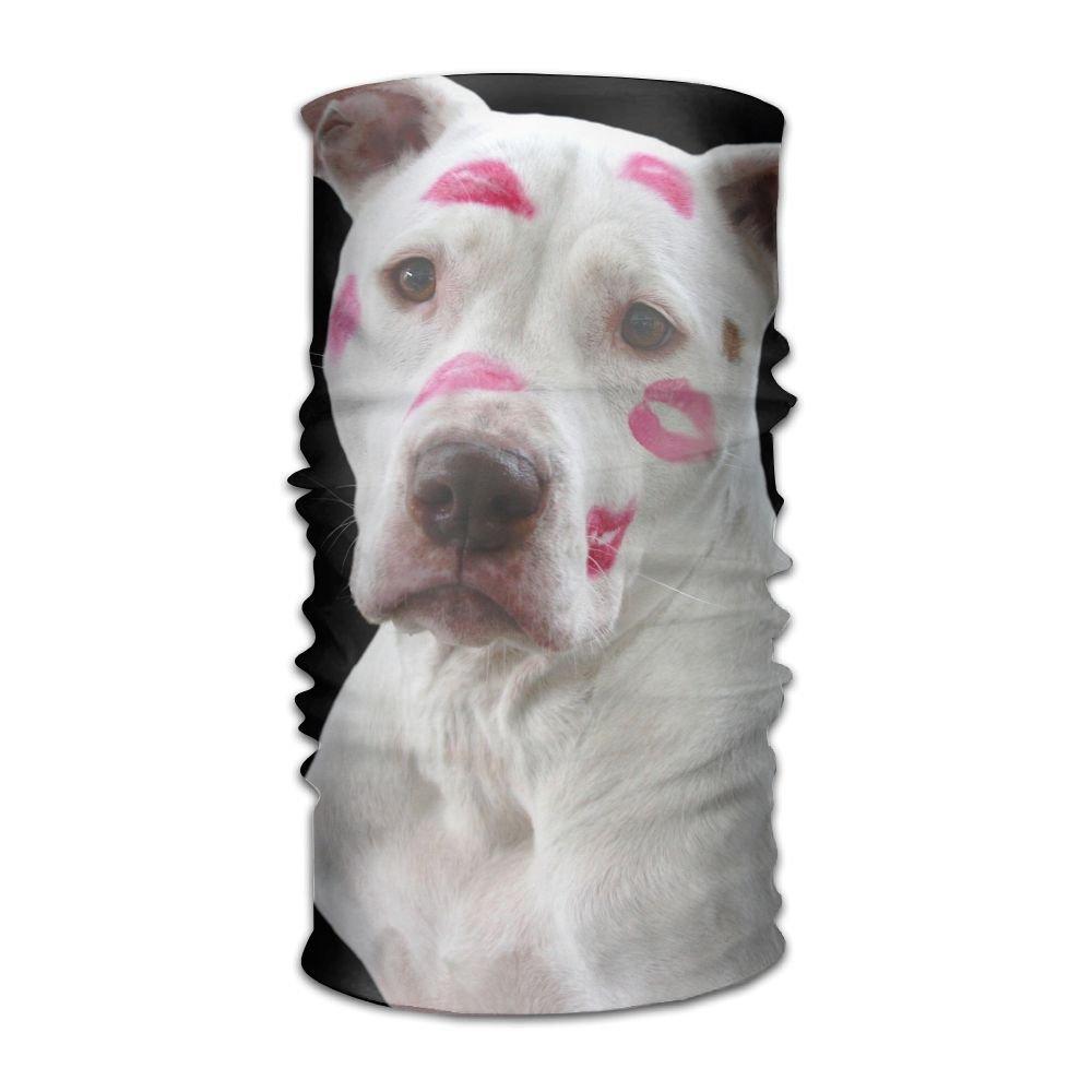 Redcong Headbands Headwear Bandana Love Dog Scarf Wrap Mask Sweatband Outdoor Headscarve