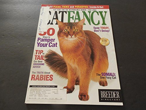 cat-fancy-may-2001-50-ways-to-pamper-your-cat-grooming-rabies-somali