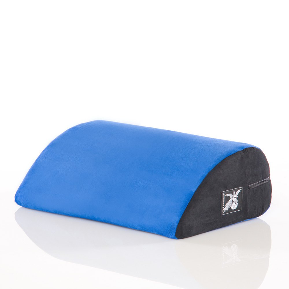 Liberator Jaz Motion Sex Positioning Pillow, Microsuede Blueberry by Liberator
