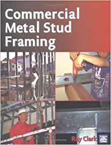 Commercial metal stud framing book