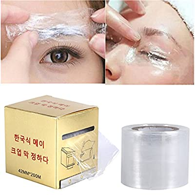 Tattoo Preservative Film, 2 Box/Set Semipermanent Permanent Clear Plastic Disposable Eyebrow Makeup Supplies Wrap Cover Tape