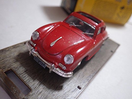 (Brumm Serie Oro (Italy) Red Porsche 356A Coupe w/ Sunroof 1952 Diecast 1:43 Nib)