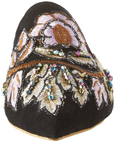 Jeffrey Campbell Women's 8-17f Closed Toe Sandals Multicolour (Suede Black Flower Multi 001) q3kPdgoxc5