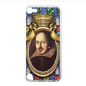 Case - Famous Writer William Shakespeare iPod Touch 5 TPU (Laser Technology) Case, Cell iPod TouchCover