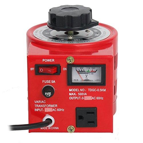 Metered Variac Variable 500W Transformer Auto Regulator 500VA by YaeCCC
