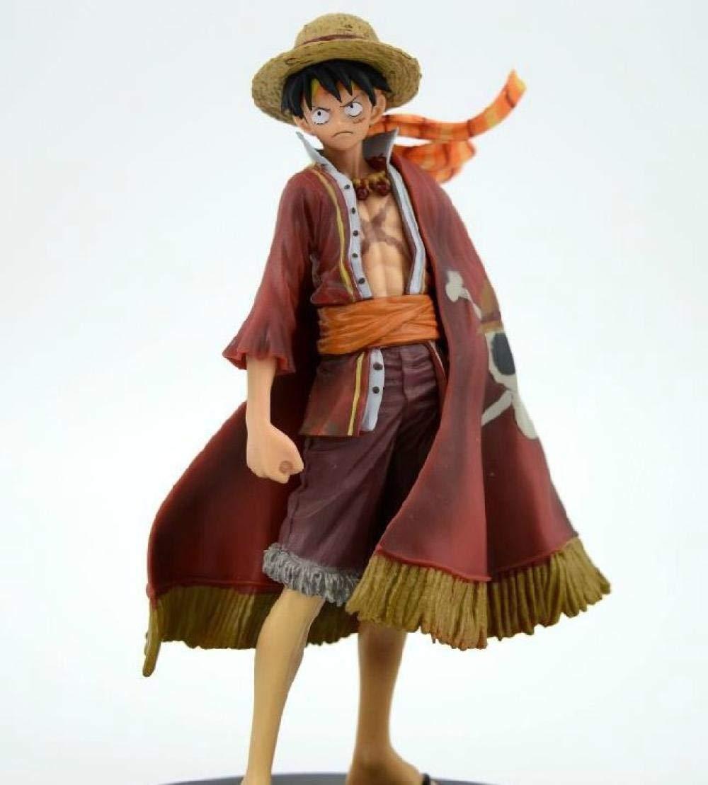 Yvonnezhang One Piece Great Way Luffy Figura Estatua Modelo Juguete Decoraci/ón Regalo