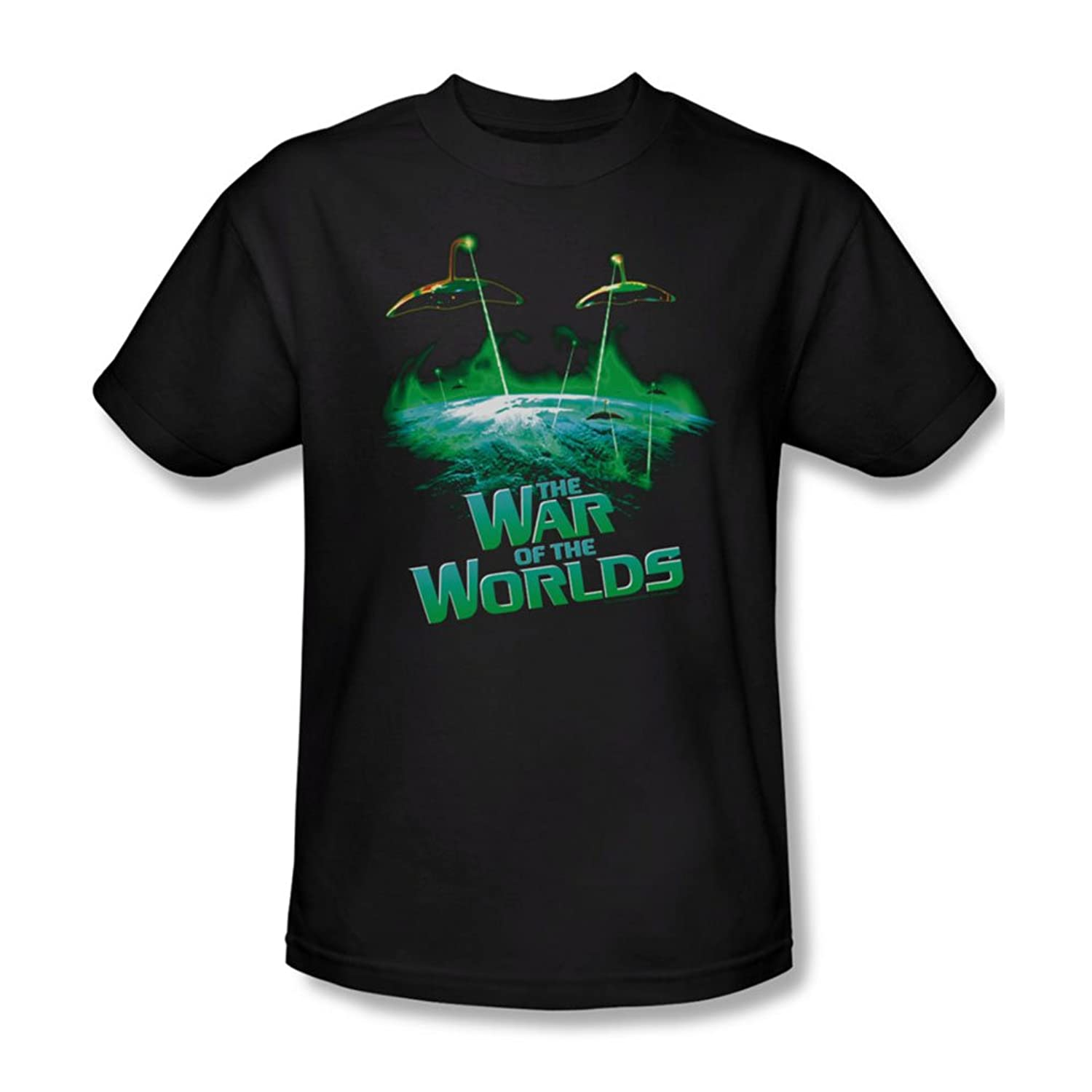 War Of The Worlds - Mens Global Attack T-Shirt In Black