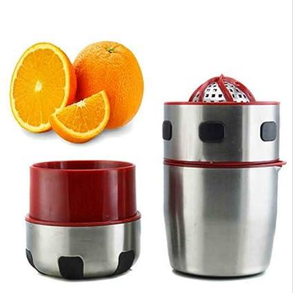 SDZZJH Manual de Acero Inoxidable exprimidor de Jugo de Fruta, Zumo de Naranja Mini Prensa