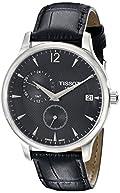 Tissot Men's TIST0636391605700 Tradition Analog Display Swiss Quartz Black Watch