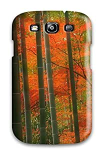 Premium DrSsnub1504kzLpf Case With Scratch-resistant/ Bamboo Case Cover For Galaxy S3