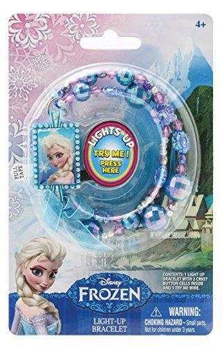 Disney Frozen Elsa Light Up Bead Bracelet