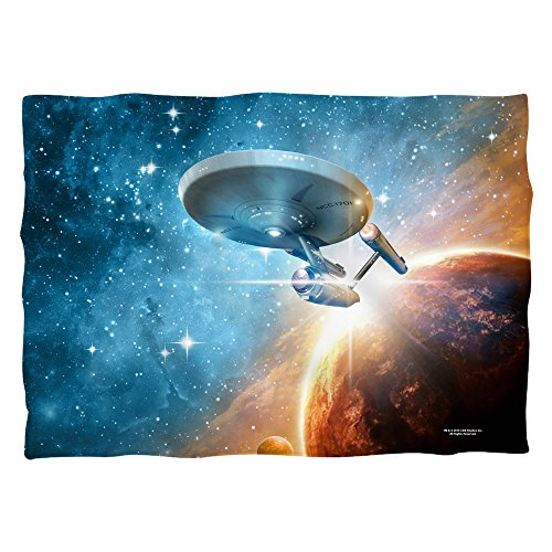 Star Trek 1960's Sci-Fi Action TV Series Final Frontier Pillow Case