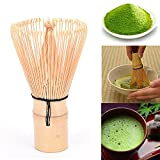 Changyin-UK 1 Pcs Matcha Bamboo Whisk,Bamboo Tea Sets Matcha Whisk Teaism Accessories Dishware & Serving Pieces