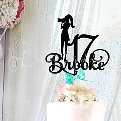 Decoración para tarta con diseño de fotógrafo para 17 ...