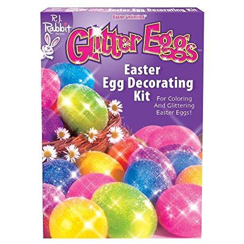 Glitter Eggs Easter Egg Decorating