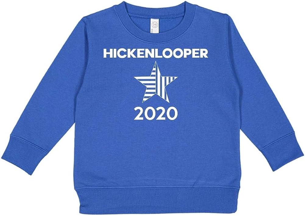 Mashed Clothing Hickenlooper 2020 Presidential Election 2020 Toddler//Kids Sweatshirt