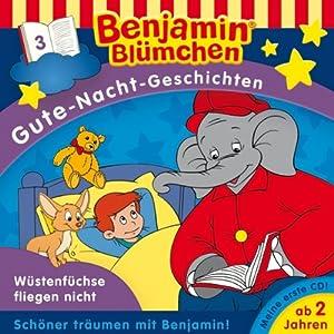 Wüstenfüchse fliegen nicht (Benjamin Blümchen Gute Nacht Geschichten 3) Hörspiel