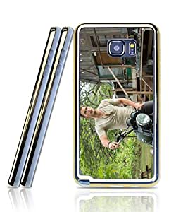 Galaxy Note 5 Funda Case - Film Jurassic World Personalized Unique Style 2 in 1 Hybrid Dual Layer Silicone Gel Extra Thin Protective Funda Case For Samsung Galaxy Note 5