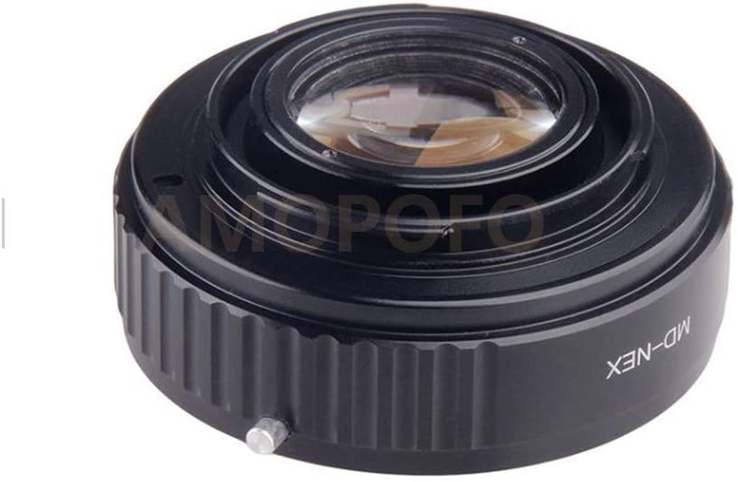 Compatible with for Canon EOS EF Lens /& for Sony NEX E Mount Camera A5100 A6000 A5000 A3000 NEX-5T NEX-3N NEX-6 NEX-5R NEX-C3 NEX-3 NEX-5 A7 A7s A7R A7II Focal Reducer Optical Glass Adapter