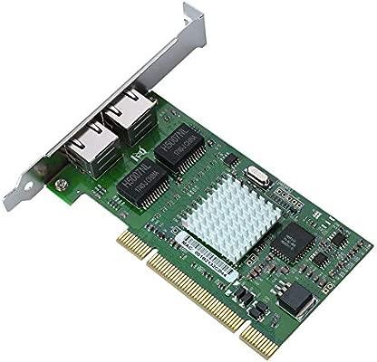 Bewinner Tarjeta de Red Ethernet Gigabit para 8492MT 82546EB ...