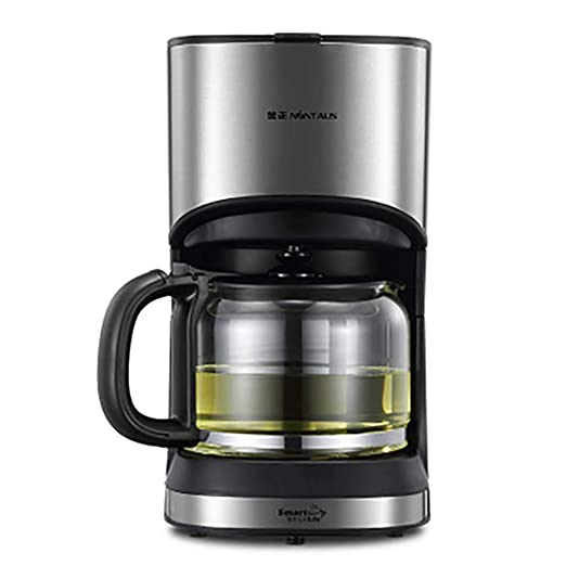 YONGRU Filtro de café de la máquina, Cafetera Goteo con 1,2 l ...