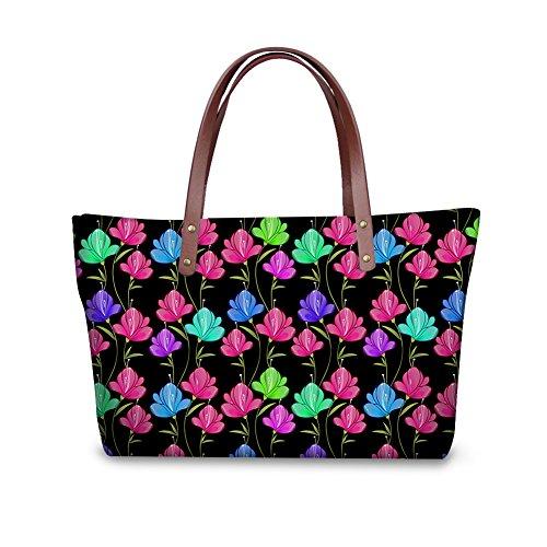 W8ccc3096al Women Handle Handbags Satchel Top Tote Bages Shopping FancyPrint wq7Wpg8BPx