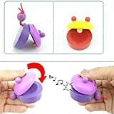 Children' Favorites Educational Toys Toddler Baby Kids Wooden Toy Perfect Birthday Gift Xmas Gift for 2 Years Up Children(3pcs,Random Color)