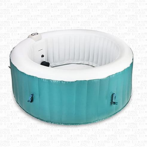 Indoor whirlpool aufblasbar  AQUAPARX Whirlpool AP-800SPA *rund Ø 180cm* Pool 4Personen ...