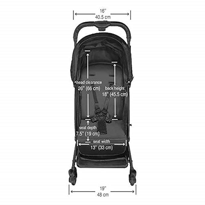 Salt /& Pepper Guss Oxygen Compact Stroller Guzzie