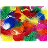 Fluffy Craft Feathers 25g Bag