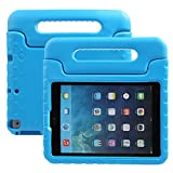 NEWSTYLE iPad 9.7 inch 2017 Kids Case Shockproof Stand Cover with Built-in Handle for Children for Apple New iPad 9.7-inch Blue