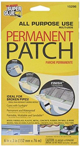 Reinforced Polyester Fiberglass Patch #15298 (Rust Patch)