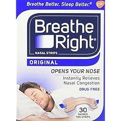 Breathe Right Nasal Strips, Small /Medium-30 ct.