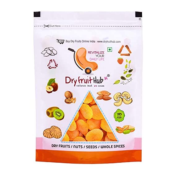 Dry Fruit Hub Dried Apricots Seedless, 400gms, Dried Apricots, Apricots Dry Fruits