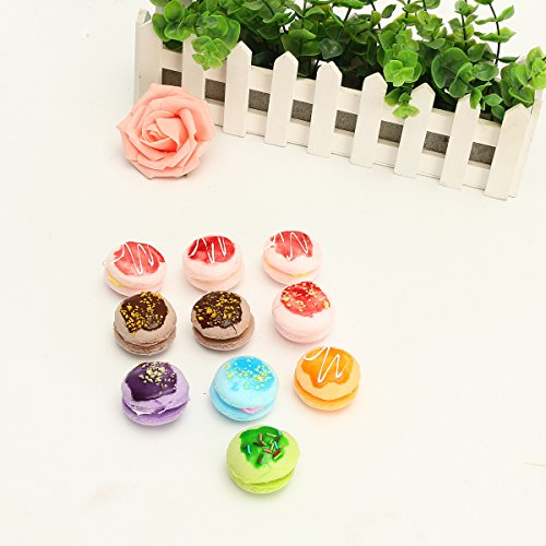 Novelty - 1pcs New Simulate Macaron Cake Squishy Toy Stress Reliever Phone Chain - Jumbo Squishies Cake Prime Squishy Slow Rising Strawberry Scented Giant - Phone Number Solstice