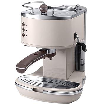 LJZQ Máquina de café exprés con bomba tradicional de LJINM Capacidad del tanque de agua de 1100 vatios: 1.4 litros, verde: Amazon.es: Hogar