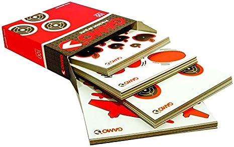 Gamo 6212136 Caja con 100 Dianas Variadas, Hombre, Negro, Talla Única
