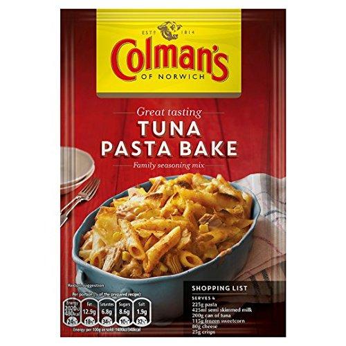Colman's Tuna Pasta Bake Recipe Mix 44G (The Best Tuna Pasta Bake)