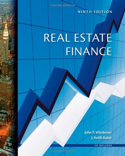 Real Estate Finance by ONCOURSE LEARNING