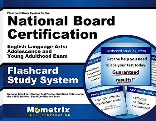 Flashcard Study System for the National Board Certification English Language Arts: Adolescence and Young Adulthood Exam: National Board Certification ... National Board Certification Exam (Cards) by Mometrix Media LLC