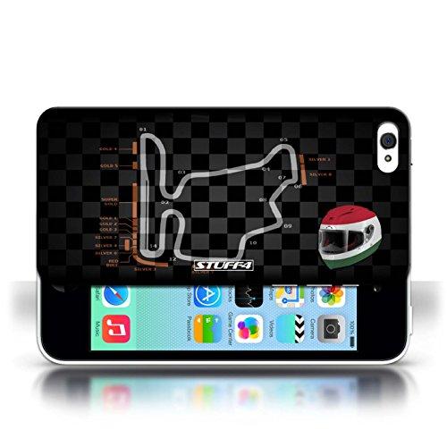Etui / Coque pour Apple iPhone 5C / Hongrie/Budapest conception / Collection de 2014 F1 Piste