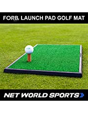 Net World Sports FORB Launch Pad Golf Practice Mat (Fairway) (60cm x 30cm) – Mini Fairway Mat Guaranteed To Get Your Golf Game Up To Par
