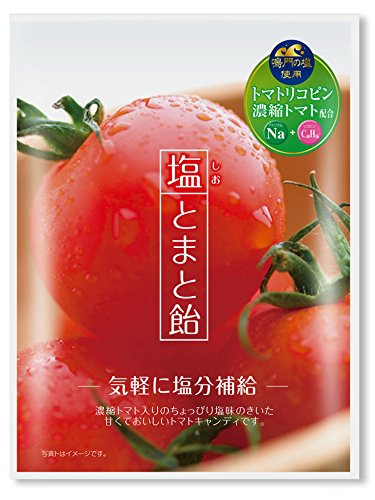Kato confectionery salt tomato candy 70gX10 bags]()