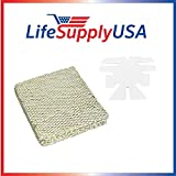 LifeSupplyUSA Humidifier Evaporator Pad Filter with Wick fits Skuttle A04-1725-052, Model 2000