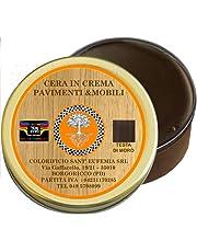 OIL&WAx bijenwas crème voor meubels en hout, glanzend, natuurlijk, met 6 tinten, gemaakt in Italië
