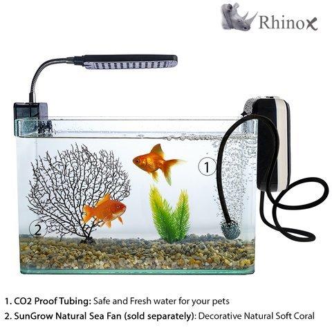 co2 resistant black aquarium tubing by rhinox extra long import