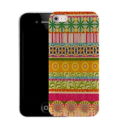 Mobile Case Mate IPhone 4s clip on Silicone Coque couverture case cover Pare-chocs + STYLET - encounter pattern (SILICON)