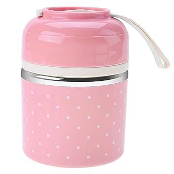 Fiambrera térmica, frasco térmico de 1 contenedor con frasco ...